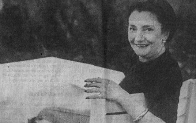 María Edwards, Justa entre las Naciones
