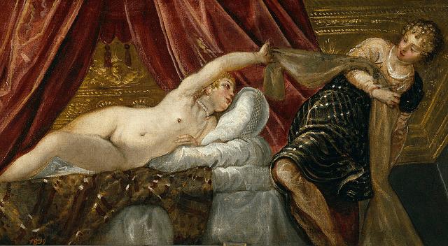 La mujer de Putifar