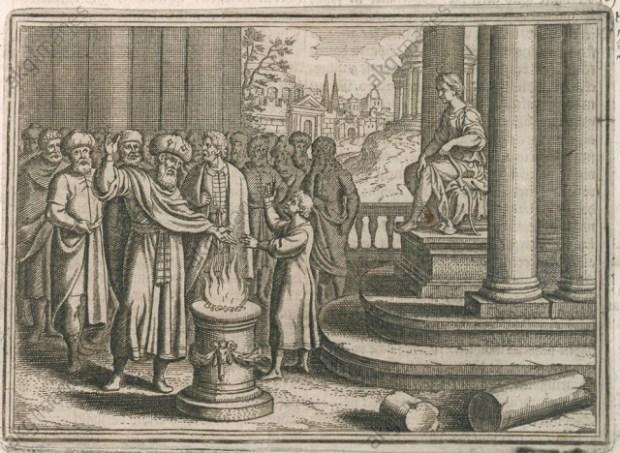 Hannibal schwört... / Merian - Hannibal swears oath / Merian -