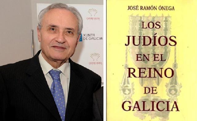 """José Ramón Ónega, autor de """"Los judíos en el reino de Galicia"""""""