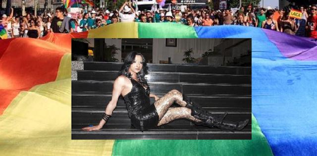 Rueda de prensa de Dana International (en inglés), previa a su actuación en la Marcha del Orgullo Gay de Madrid 2016