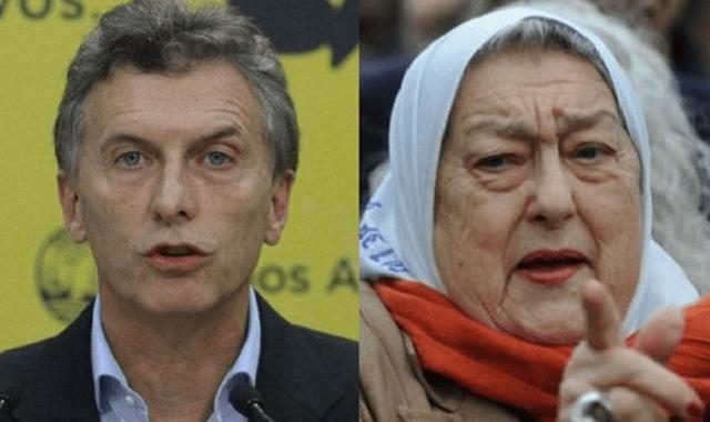 Más allá del bien, el mal y la justicia: Hebe de Bonafini y Macri
