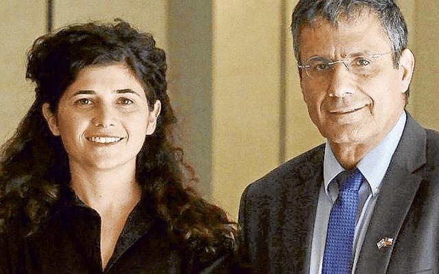Sharren Haskel y Yossi Yonah en Chile