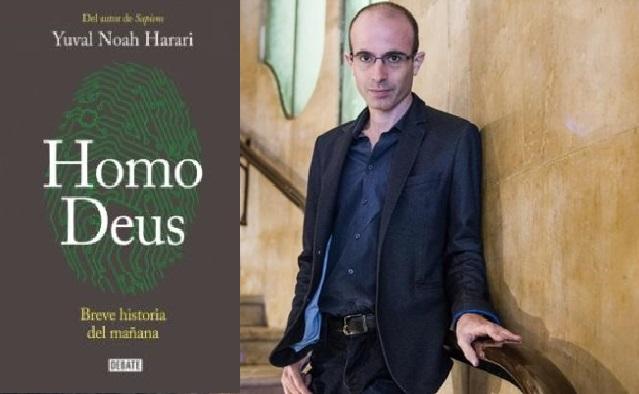 """Jorge Wagensberg conversa con Yuval Noah Harari, el autor de """"Sapiens"""" y """"Homo Deus"""""""