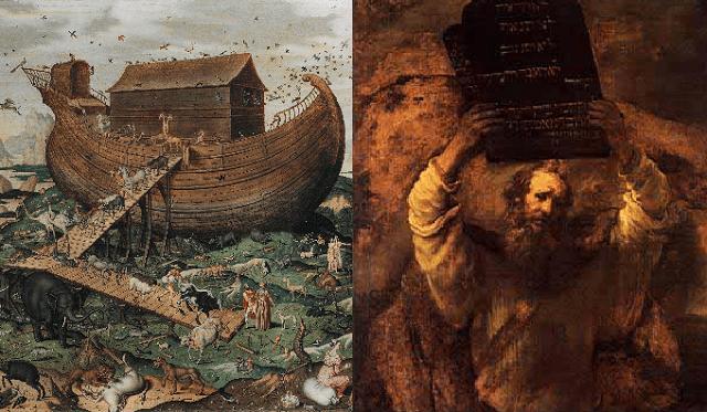 Noaj (Noé) se reencarna en Moshé Rabeinu (Moisés)