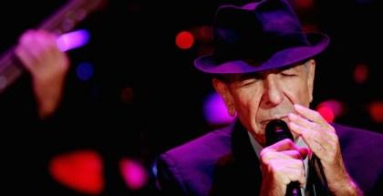 U.S. singer Leonard Cohen during a concert in Ramat Gan September 24, 2009. Photo by Marko / Flash90