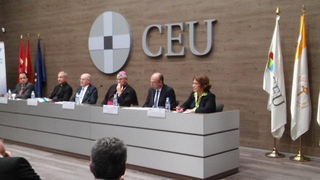 Acto de Apertura del Curso 2016 – 2017 del Centro de Estudios Judeo-Cristianos (Madrid, 3/11/2016)