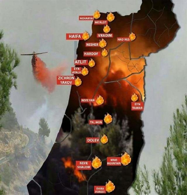 Ahora que Israel ya no arde en llamas