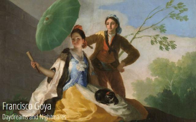 Goya en Israel, con Manuela Mena
