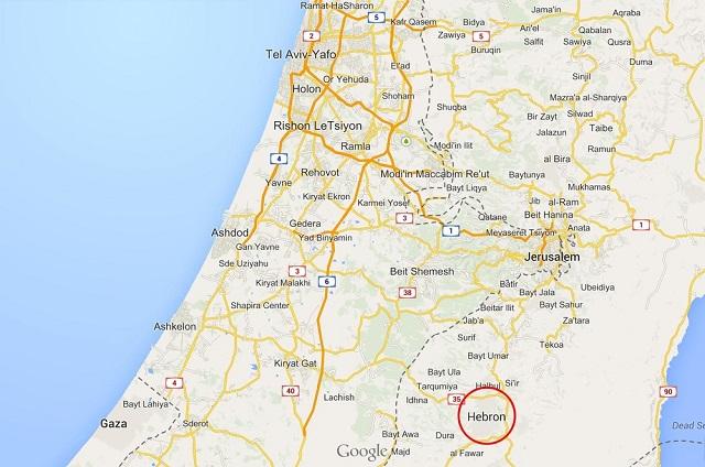 Cuando se habla de Hebrón sin hablar de Israel
