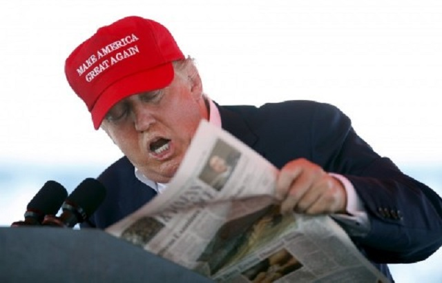 Donald Trump ya está aquí