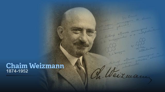 Chaim Weizmann (2ª parte): ciencia, política, estado