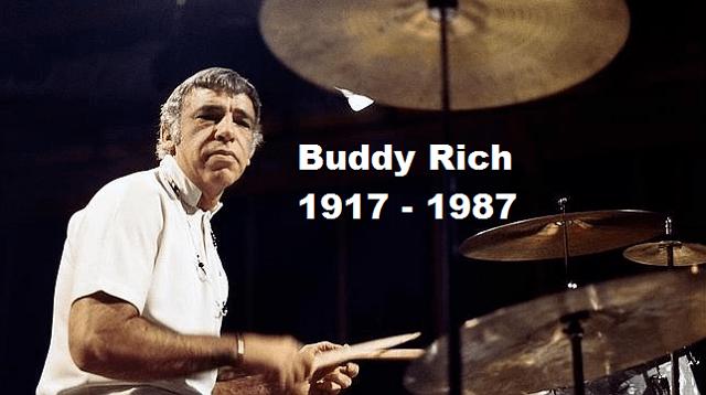 A 30 años de la muerte del gran baterista Buddy Rich