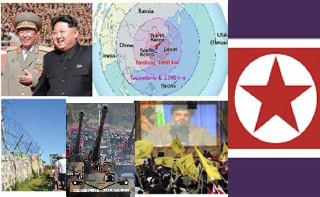 De Corea del Norte al Oriente Próximo