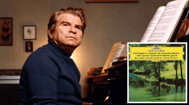 """La leyenda del Cuarteto Amadeus (7): el quinteto de piano """"la trucha"""" de Schubert con Emil Gilels"""