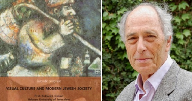 Prof. Richard I. Cohen: Visual Culture and Modern Jewish Society
