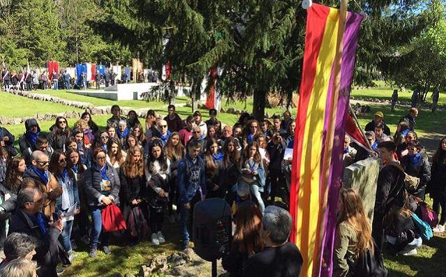 Renovando el Juramento en Mauthausen, con Concha Díaz-Berzosa