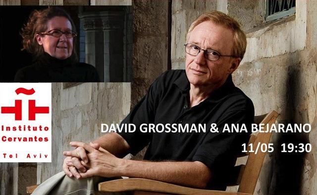 David Grossman con su premiada traductora, Ana Bejarano