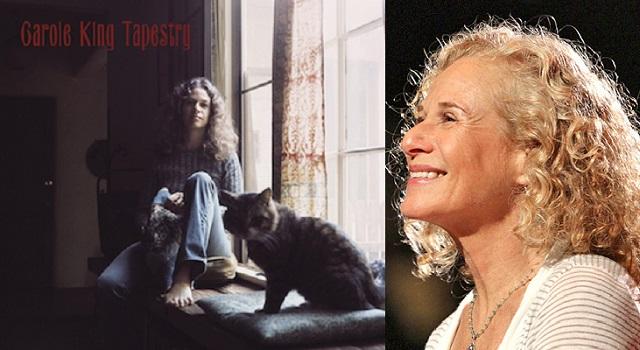 """""""Tapestry"""" de Carole King, el álbum de artista femenino que más tiempo estuvo en el Nº 1"""