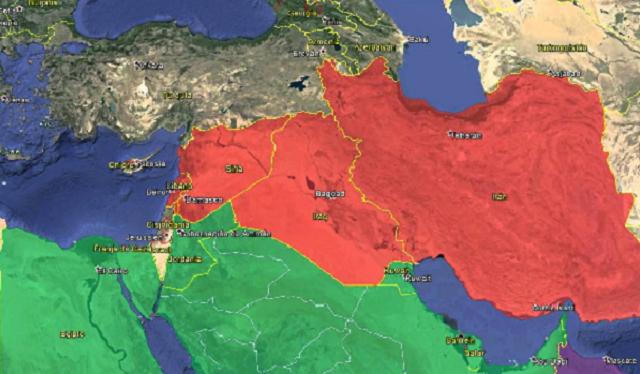 El ejército sirio bajo control iraní