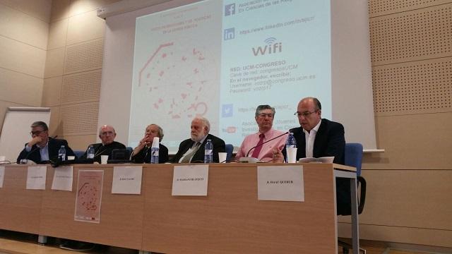 """""""Voces de Religiones y de Políticas en la Esfera Pública"""", con Isaac Querub (Universidad Complutense, Madrid, 7/6/2017)"""