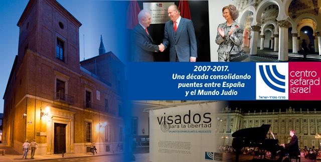 El X aniversario del Centro Sefarad-Israel, con su director Miguel de Lucas