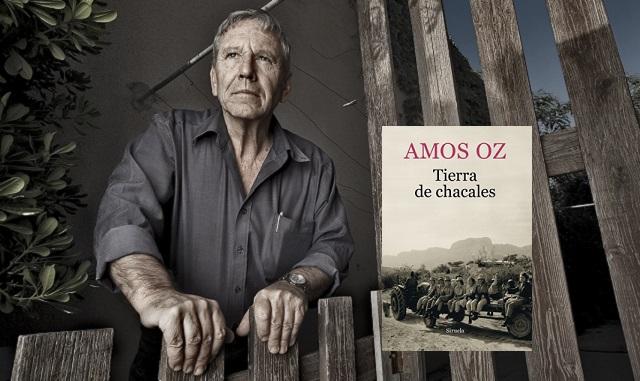 """""""Tierra de chacales"""" de Amos Oz, con su editor Julio Guerrero"""