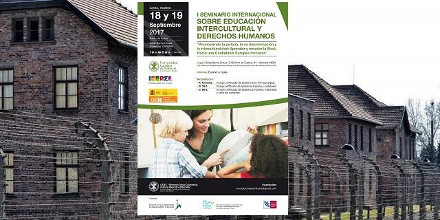 I Seminario Internacional sobre Educación Intercultural y Derechos Humanos, con su directora Tamar Shuali