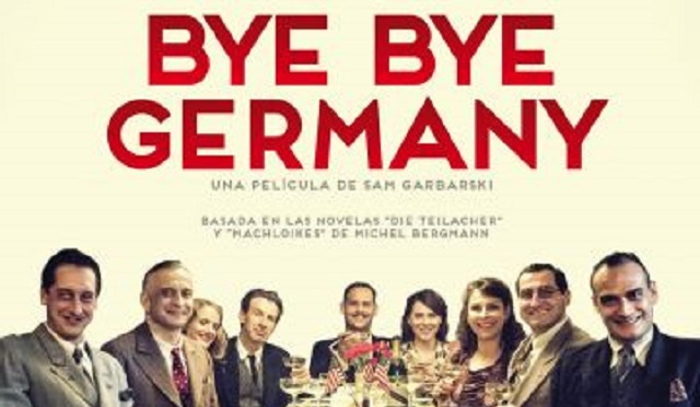 """""""Bye bye Germany"""" de Sam Garbarski, con Juan Barquín"""