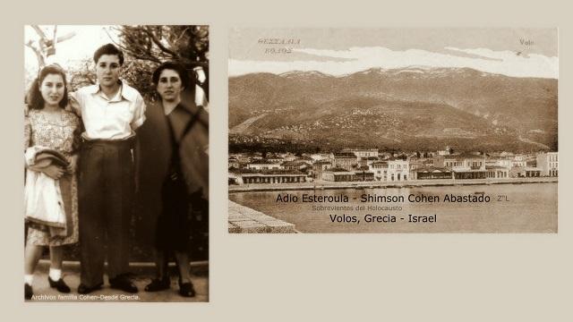 Memoria. Adio Shimshon y Esterina Cohen Abastado