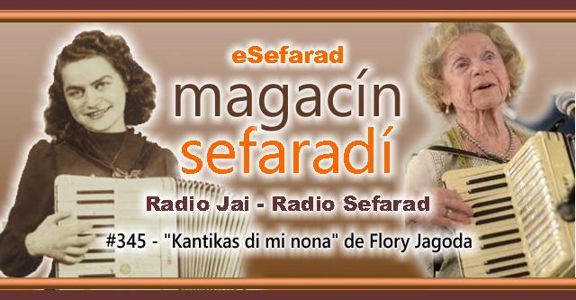 """Kantikas di mi nona"", de Flory Jagoda"