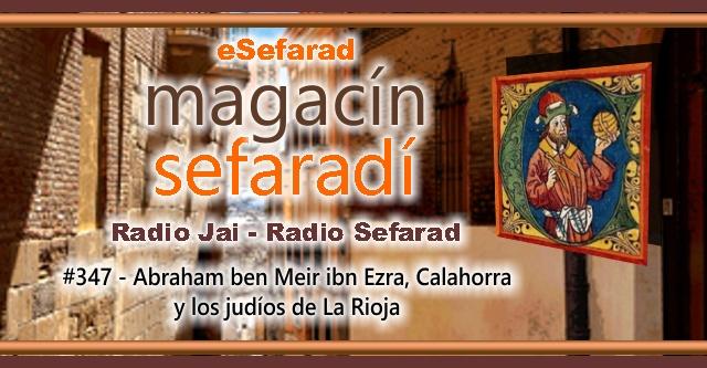 Abraham ben Meir ibn Ezra, Calahorra y los judíos de La Rioja