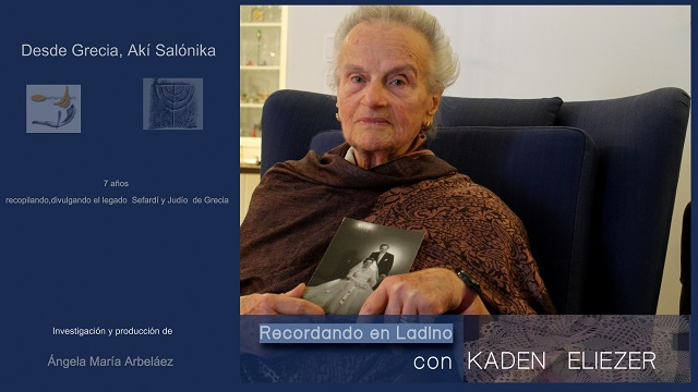 Recordando en ladino con Kaden Eliezer. Tesoro