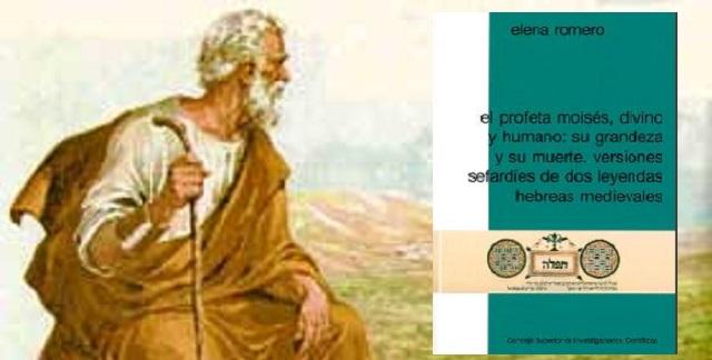 """""""El profeta Moisés divino y humano: Versiones sefardíes de dos leyendas hebreas medievales"""", con Elena Romero"""