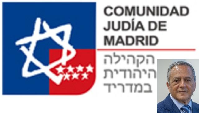 Con León Benelbas, nuevo presidente de la Comunidad Judía de Madrid