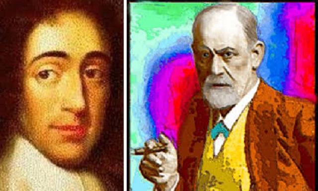 """""""Baruj Spinoza y Sigmund Freud. Ensayo sobre el estado, la cultura, la felicidad y el prójimo"""", con su autor Pablo Freinkel"""
