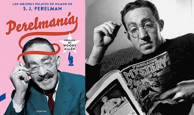 Los relatos humorísticos de Sidney Joseph Perelman, con su editor Didac Aparicio