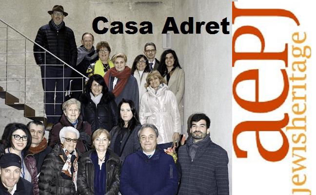 La Casa Adret de Barcelona y la AEPJ, con su nuevo director Víctor Sörenssen