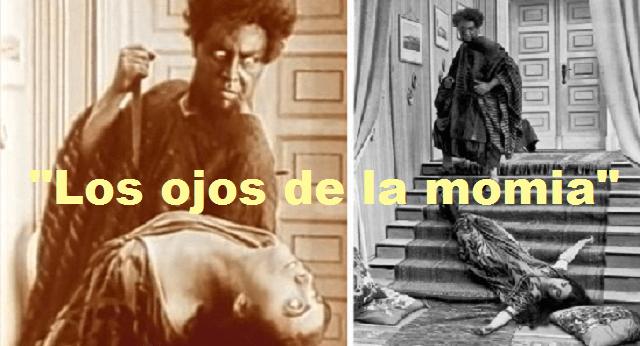"""""""Los ojos de la momia"""", de Ernst Lubitsch (1918)"""