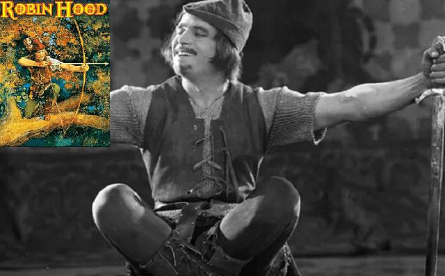"""""""Robín de los bosques"""", con Douglas Fairbanks (1922)"""