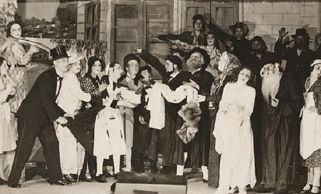 A Yiddish Teater-Konferents in Leyvik Hoyz