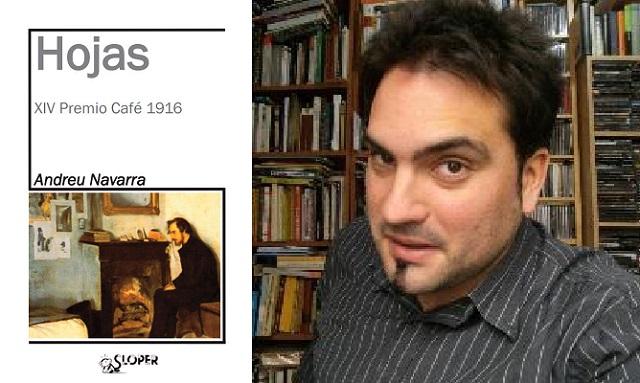"""""""Hojas"""", una novela sobre Spinoza, con su autor Andreu Navarra"""