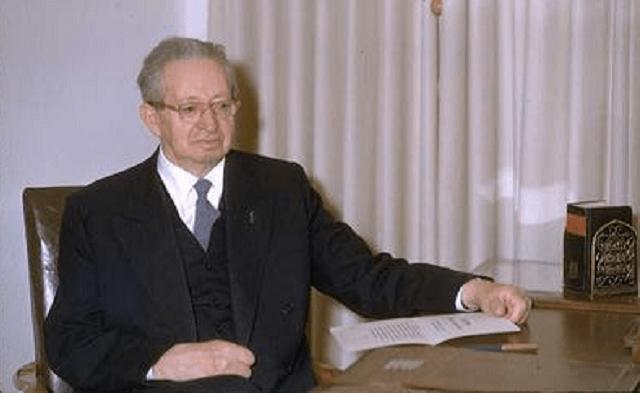Yitzhak Ben Tzvi, segundo presidente de Israel