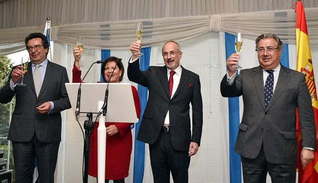 Recepción de la Embajada por los 70 años de Israel (Madrid, 24/4/2018)