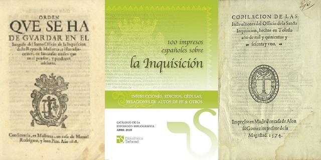 Impresos españoles sobre la Inquisición, una exposición de la Bibliotheca Sefarad, con Uriel Macías