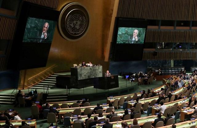 Votación de condena a Hamás en la ONU