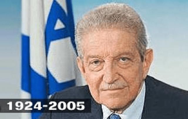 """Ezer Weizman, el presidente """"sabra"""""""