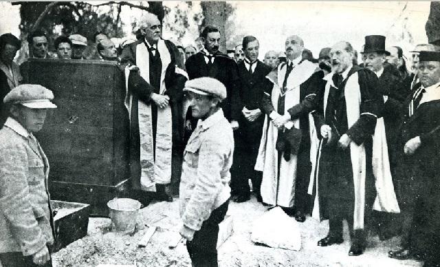El Centenario de la piedra fundamental de la Universidad Hebrea de Jerusalén, con Edu Pollak