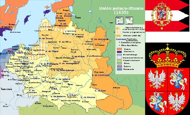 La modernidad en Ashkenaz (y 13ª parte): la Confederación del Reino de Polonia y el Gran Ducado de Lituania