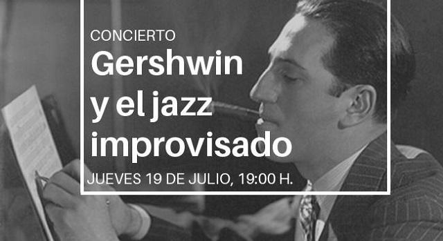 """""""Gershwin y el jazz improvisado"""", con Sebastián Chames"""